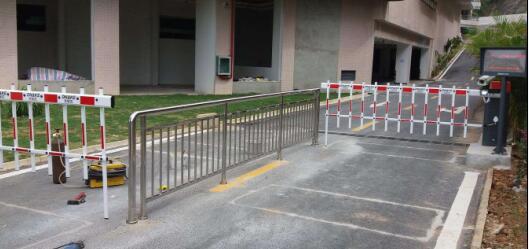 停车场车牌识别系统工程竣工
